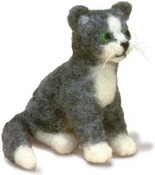 Cat Dimensions Needle Felting Kit