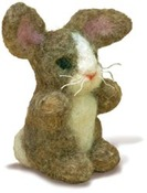 Bunny Dimensions Needle Felting Kit