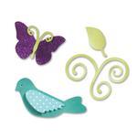 Birds & Butterflies Set - Sizzix Sizzlits Die Set - Ellison