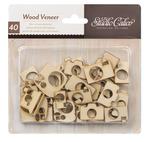 Camera Wood Veneer Shapes - Studio Calico