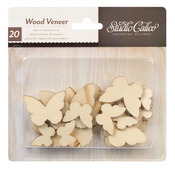 Butterflies Wood Veneer - Studio Calico