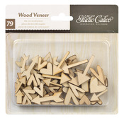 Heart & Arrow Wood Veneer Shapes