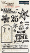 Christmas Cottage Clear Stamps - Teresa Collins