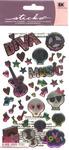 Teen Rock Girl Sticko Dimensional Stickers - EK Success