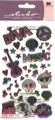 Teen Rock Girl Sticko Dimensional Stickers - EK Success