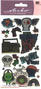 Teen Rock Boy Sticko Dimensional Stickers - EK Success