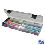 Translucent Charcoal Pencil Box - ArtBin