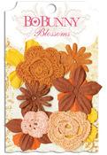 Harvest Orange Bouquet - Blossoms - Bo Bunny