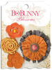 Harvest Orange Dahlia - Blossoms - Bo Bunny