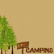 Gone Camping Paper - Happy Camper - Moxxie