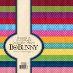 Bold & Bright Double Dot 6 x 6 Paper Pad - Bo Bunny