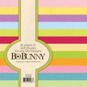 Soft Shades Double Dot 6 x 6 Paper Pad - Bo Bunny