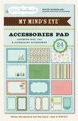 Winter Wonderland 4 x 6 Accessories Pad - My Minds Eye