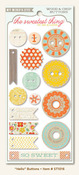 Hello Buttons - Tangerine - The Sweetest Thing - My Minds Eye
