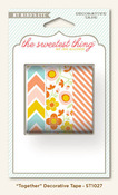 Together Decorative Tape - Tangerine - The Sweetest Thing - My Minds Eye
