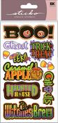 Halloween Titlewave Stickers - Sticko