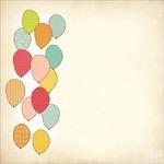 Balloons Die Cut Paper - Save The Date - KaiserCraft