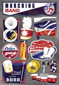The Marching Band Cardstock Stickers - Karen Foster