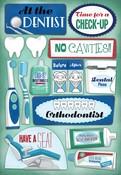 Dentist/Orthodontist Cardstock Stickers - Karen Foster