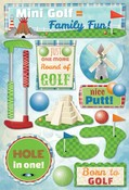 Mini Golf Cardstock Stickers - Karen Foster