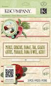Botanical Sliders - Beyond Postmarks - K & Company