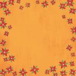 Poinsettias Paper - Christmas - Karen Foster