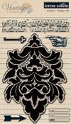 Vintage Finds Clear Stamps #2 - Teresa Collins