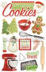 Christmas Cookies 3D Stickers - Paper House