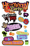 Halloween Party 3D Stickers - Paper House