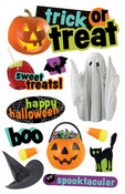 Trick Or Treat 3D Stickers - Paper House
