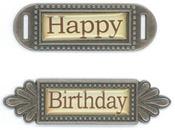 Happy Birthday Metal Words