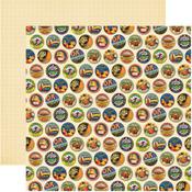 Festive Cake Paper - Labels Classique - Reminisce