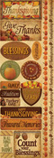 Autumn Harvest Cardstock Stickers - Reminisce