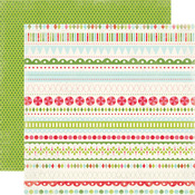 Merry Borders Paper - Merry And Bright - Carta Bella