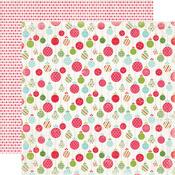 Merry Ornaments Paper - Merry And Bright - Carta Bella