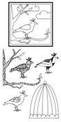 Birds Clear Stamps - Impression Obsessions
