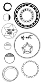 Circles Clear Stamps - Impression Obsessions