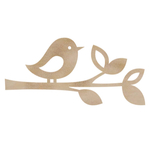 Bird Twig Flourish - Wood Flourishes - KaiserCraft