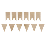 Pennants - Wood Flourishes - KaiserCraft