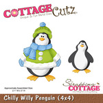 Chilly Willy Penguin Metal Die - Cottage Cutz