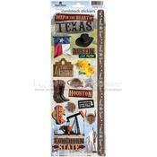 Texas 2 Cardstock Stickers - Paper House