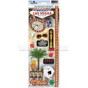 Las Vegas 2 Cardstock Stickers - Paper House