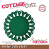 Holiday Doily 4x4 Metal Die - Cottage Cutz