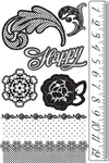 Rosarian Cling Stamps - Prima