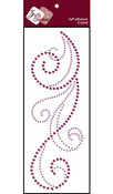Lavender/Grape Crystal Flourish CRB Series 1 - Zva Creative