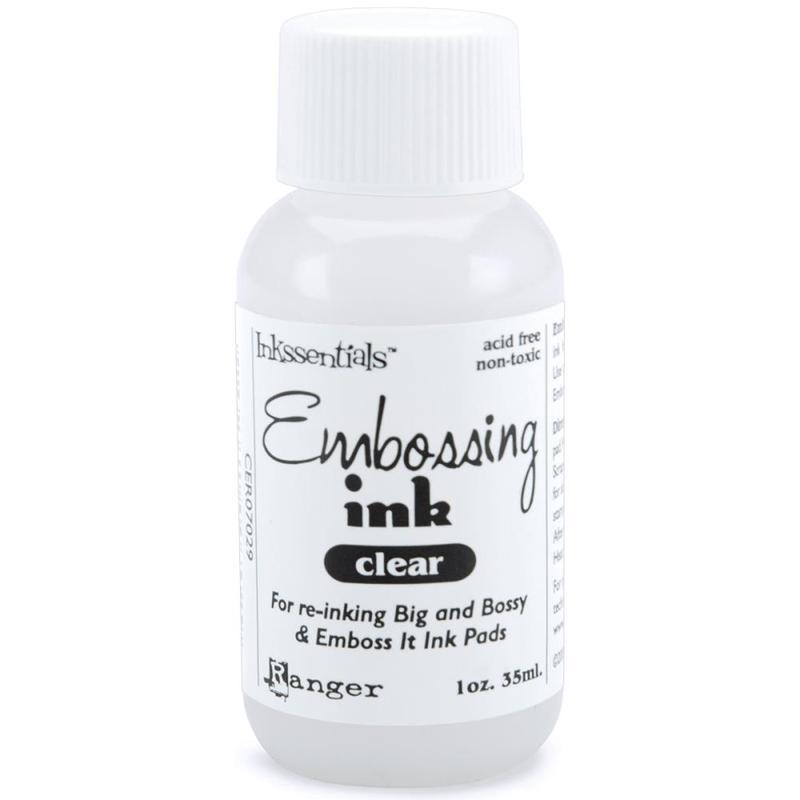 Emboss It Ink - Clear Re-Inker - Ranger - Archival Ink