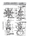 Christmas Blueprint Stampers Anonymous - Tim Holtz