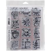 Mini Blueprints Stampers Anonymous Mini - Tim Holtz