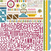 Thankful Alphabits Sticker Sheet - Bella Blvd