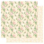 Roses Glitter  - Blossoming Time  Glitter Paper